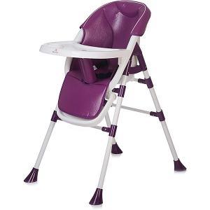 Стульчик для кормления  Pancake, фиолетовый Baby Hit. Цвет: фиолетовый