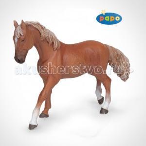 Игровая реалистичная фигурка Рыжая верховая лошадь Papo
