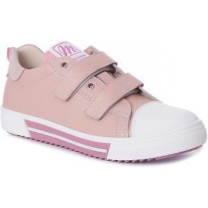 Кеды  для девочки Minimen. Цвет: розовый