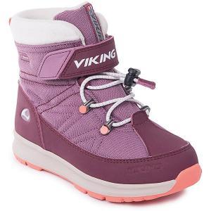 Ботинки Sokna GTX Viking для девочки. Цвет: розовый