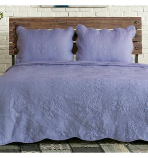 Комплект постельного белья  нав. 70х50 см Романтика, цвет: фиолетовый Василиса