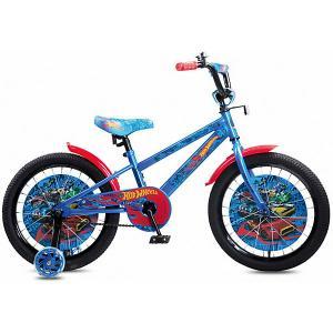 Двухколесный велосипед  Hot Wheels, 18 дюймов Navigator. Цвет: разноцветный