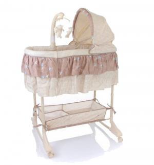 Кроватка-люлька  Sweet Dream 3 в 1, цвет: brown Jetem