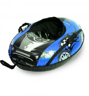 Тюбинг  Машина Comfort овальный (91 см), цвет: синий Тяни-Толкай