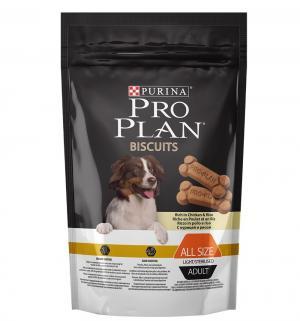 Бисквит  для взрослых собак после стерилизации кастрации и стерилизации, курица/рис, 400г Pro Plan