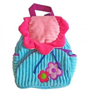 Рюкзачок  Полянка цвет: розовый/голубой 20х28 см Shantou Gepai
