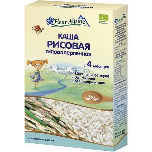 Каша  рисовая гипоаллергенная, с 4 мес Fleur Alpine