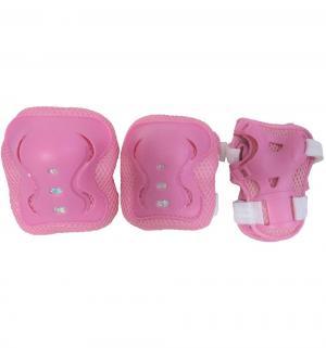Комплект защиты  PW-320B, цвет: розовый Action Sport