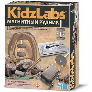 Набор для раскопок  KidzLabs Магнитный рудник 4M