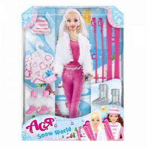 Набор Кукла Ася Зимняя красавица 2 Toys Lab