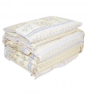 Комплект постельного белья  Считалочка, цвет: бежевый Сонный гномик