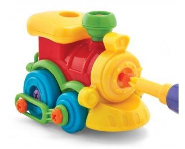 Набор Юный механик с паровозиком Playgo