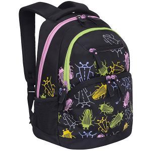Рюкзак  RD-951-2 №1 Черные жуки Grizzly