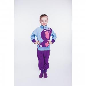 Спортивные брюки  Бабочка ЛисФлис. Цвет: лиловый