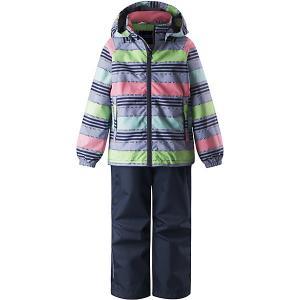Комплект : куртка и брюки Lassie. Цвет: разноцветный