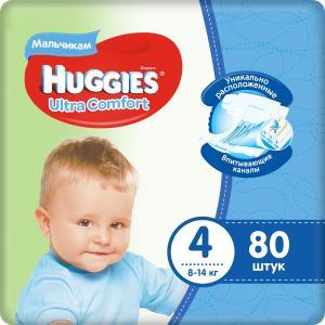Подгузники  Ultra Comfort (8-14 кг) шт. Huggies