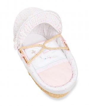 Корзина  Конфетти вечеринка, цвет: розовый Mothercare