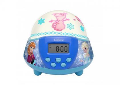 Часы  Будильник-проектор с радио. Холодное Сердце Дисней Lexibook