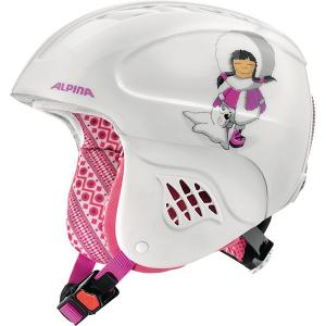 Зимний шлем  CARAT eskimo-girl Alpina. Цвет: белый