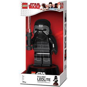 Игрушка-минифигура-лампа  Star Wars, Kylo Ren LEGO. Цвет: черный джинсовый