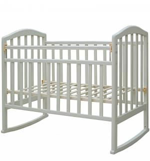 Кровать-качалка  Алита 2, цвет: белый Антел