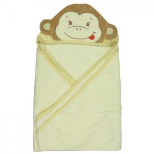 Полотенце с капюшоном Обезьянка 100х100 см Forest