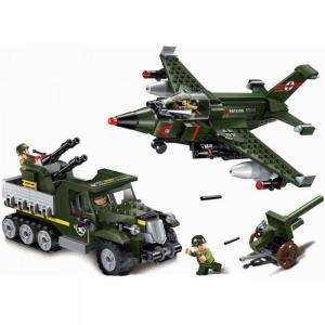 Военная база Combat Zone Авианалет (438 деталей) Enlighten Brick