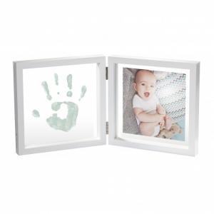 Рамочка двойная прозрачная Baby Style с отпечатком краской Art