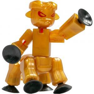 Игрушка  Монстр золотой Stikbot
