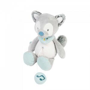 Мягкая игрушка  Musical Soft toy Mini Tim & Tiloo Волк музыкальная 22 см Nattou