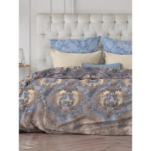 Комплект постельного белья  Vintage, 5 предметов Романтика. Цвет: коричневый