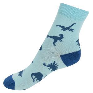 Носки  Динозавры, цвет: голубой Mark Formelle