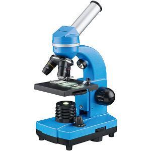 Микроскоп  Junior Biolux SEL, 40–1600x, синий Bresser. Цвет: синий
