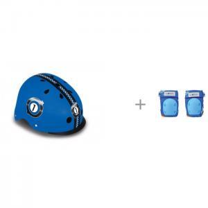Шлем Elite Lights 1 и антисептический гель для рук Дезснаб Дезактив-гель 50 мл Globber