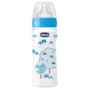 Бутылочка  Well-Being Boy, с 4 месяцев, 330 мл Chicco