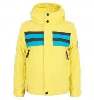 Куртка , цвет: желтый/синий Poivre Blanc