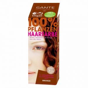 Растительная краска для волос Бронза 100 г Sante