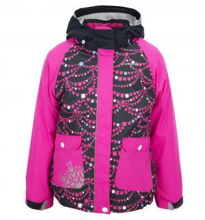 Куртка  Jane, цвет: розовый/синий IcePeak