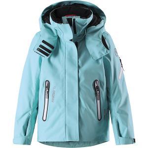 Утеплённая куртка  Roxana Reima. Цвет: бирюзовый