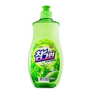 Средство для мытья посуды CJ Lion Зеленый чай Chamgreen, 480 мл