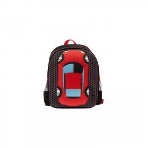 Рюкзак Машина, цвет черный с красным 3D Bags