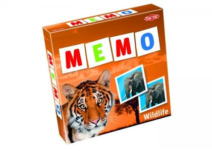 Мемо-карточки Дикие животные-2 Tactic Games