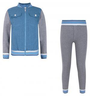 Комплект куртка/брюки , цвет: синий Милашка Сьюзи