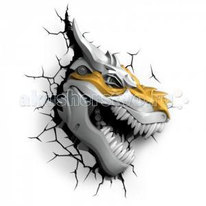 Светильник  Пробивной 3D TRNSFMR Grimlock (Гримлок) 3DlightFX