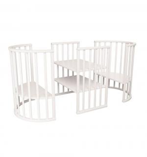 Кровать  8 в 1, цвет: белый Папа Карло
