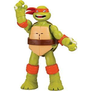 Фигурка Playmates Черепашки-ниндзя Майк, клич ниндзя, 15 см. Цвет: grün/orange