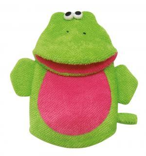 Мочалка-рукавичка , цвет: зеленый Сказка