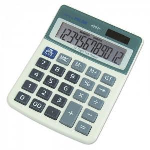 Калькулятор настольный полноразмерный 12 разрядов 40925BL Milan
