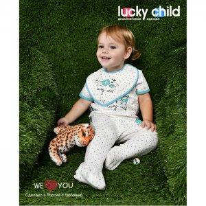 Нагрудник  Зоопарк 3 шт. Lucky Child