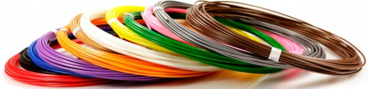Комплект пластика ABS для 3Д ручек (12 цветов) Unid
